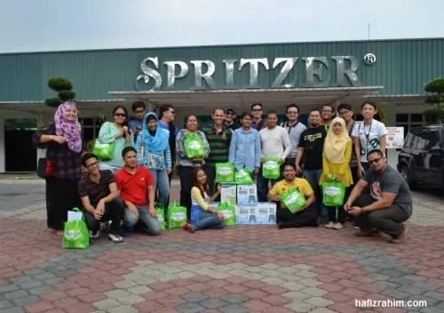 Blogger bersama Spritzer