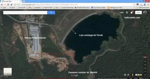 Lokasi sumber air Spritzer