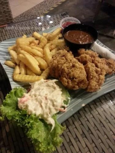 Chicken cordon blue - old malaya kopitiam bangi