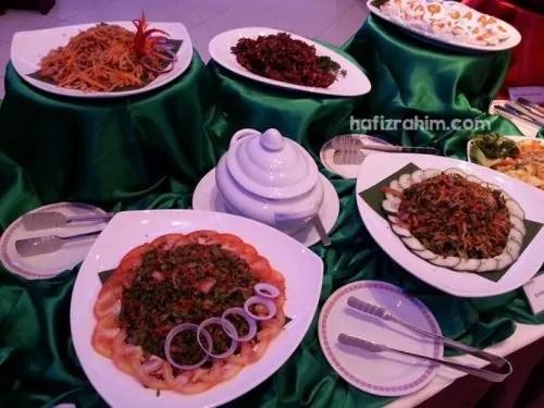 menu tradisional bufet