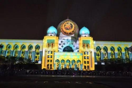 LAMPU Light Of Motion Putrajaya 2014-design unik