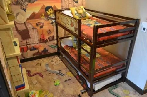 Adventure Room Legoland Double Decker Bed