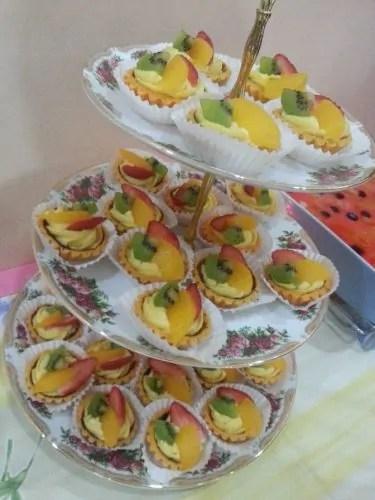 Fruit tart. Favourite aku.. Sedap woo!