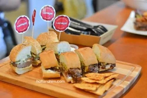 Test food Stacks by Las Vacas