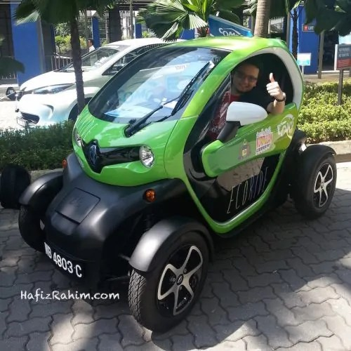 Renault Twizy - Kereta Elektrik