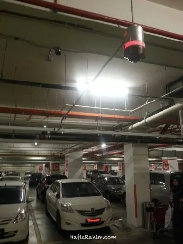 Find Your Car Car Park System CCTV