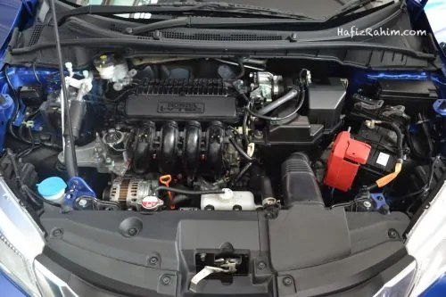 Honda City engine bay