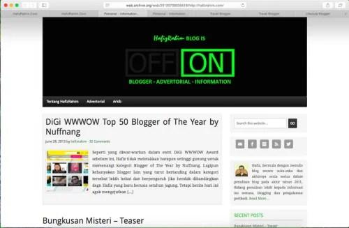 Malaysian Best Blog 3