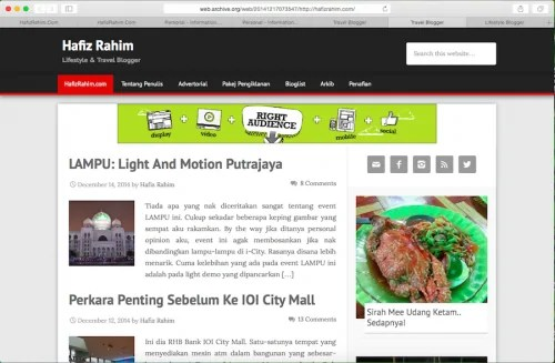 Malaysian Best Blog 6