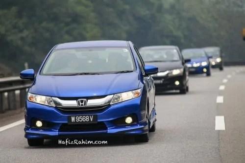 Test drive Honda City