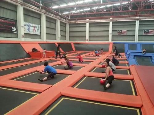 Jump street jump aerobics