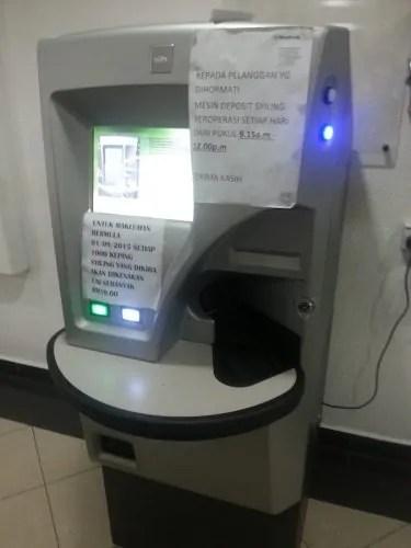 Mesin deposit syiling-Coin Deposit Machine