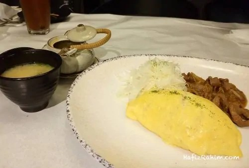 Beef Yakiniku Omelette Curry Don