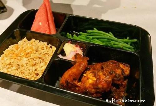 Chamala Chicken & Garlic Fried Rice