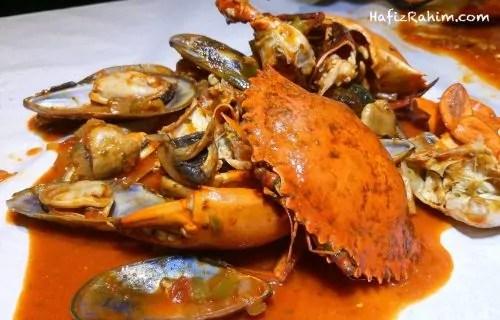 Meat Crab dengan sos Jamba-Jamba