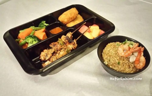 Seafood Fried Rice Lunch Tray
