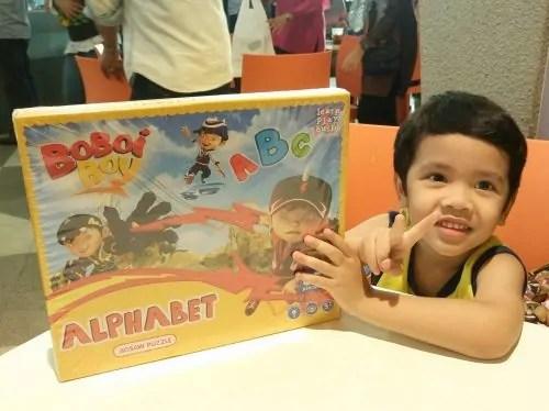 Khair dan BoboiBoy puzzle