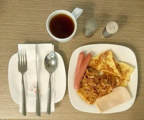 Breakfast Swiss-Inn Johor Bahru