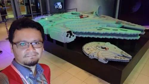 Hafiz Rahim_Largest LEGO Millenium Falcon