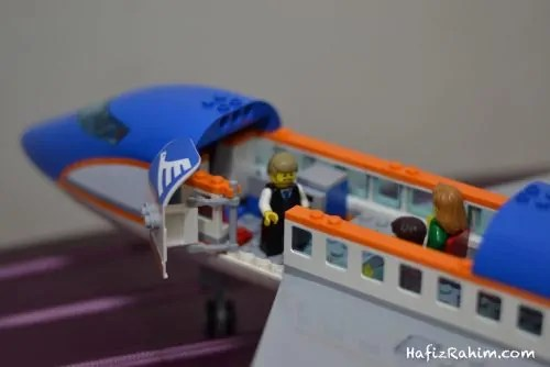 LEGO City Airport Passenger-Interior