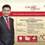 Seminar Emas Public Gold Miri, Sarawak