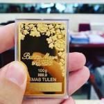 10 gram emas corak BungaMas, laku seperti pisang goreng!