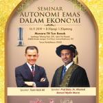 Seminar emas oleh Azizi Ali & Prof. Dato. Dr. Ahamed Kameel Mydeen