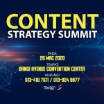 Content Strategy Summit | 28 Mac di Bangi