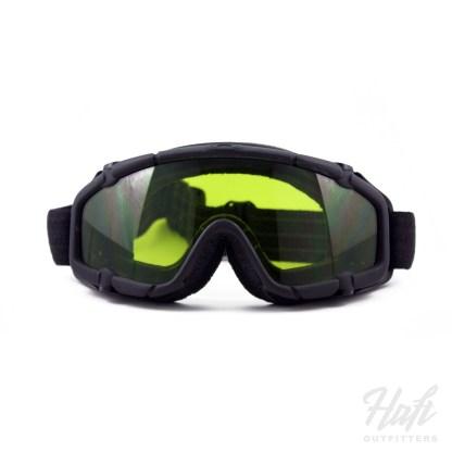 Oakley SI Ballistic Goggle - Black Frame - SPC Laser Toric Lens - SKU: 11-150