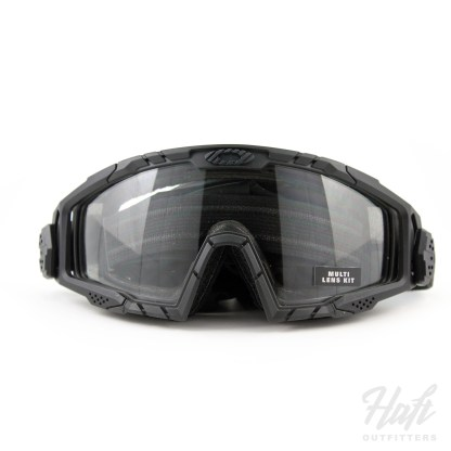 Oakley SI Ballistic Goggle 2.0 Array - Matte Black Frame - 0N + 3N Clear + Grey Lens - SKU: OO7035-03