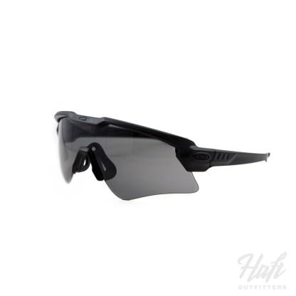 Oakley SI Ballistic M Frame Alpha - Matte Black Frame - 3N Grey Lens - SKU: OO9296-04