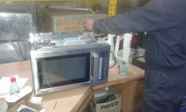 mantenimiento microonda amana, reparación microonda amana, tecnico microonda amana