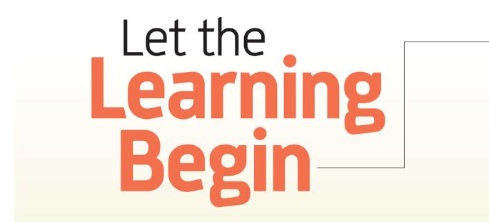 Let-learning-begin