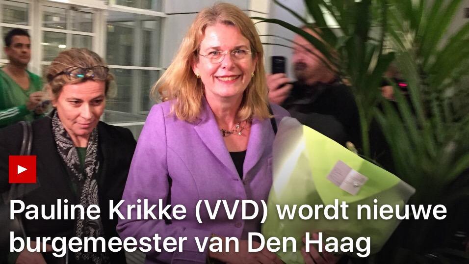 Pauline Krikke welkom!
