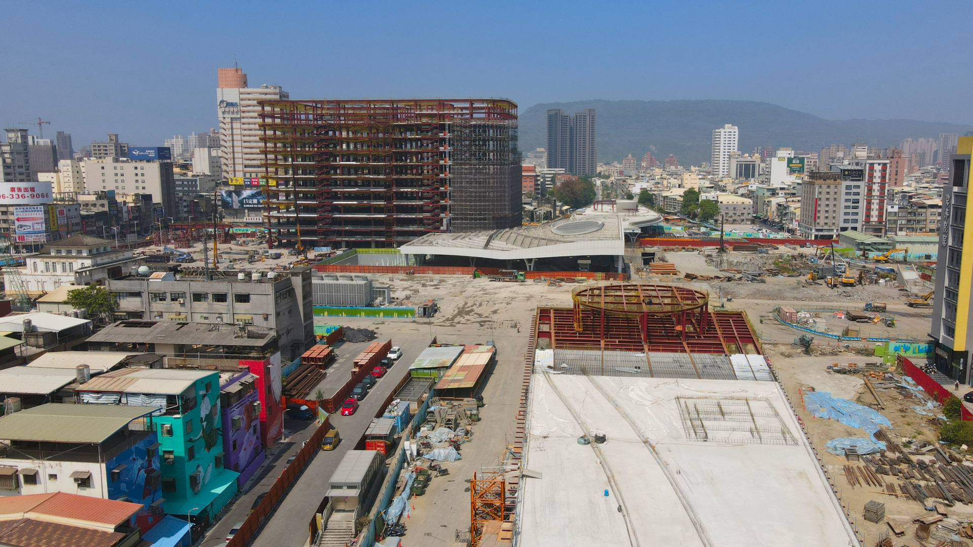 Kaohsiung Station Construction