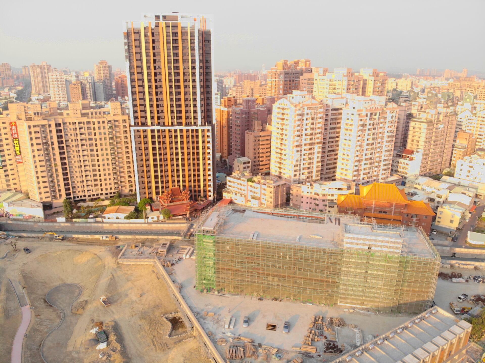 Shihcyuan Road car-park building