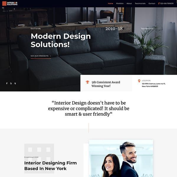 HAGER MEDIA interior Websites