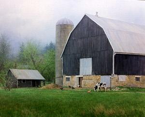 Barn and Silo 6