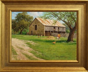 Days Gone By 9x12 oil painting by William Hagerman