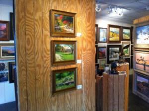 Folger Gallery showcasing work by William Hagerman