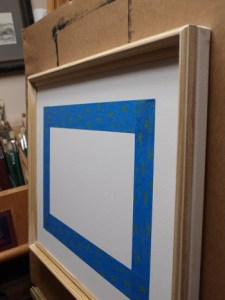 Custom Illusion Frame Step 2