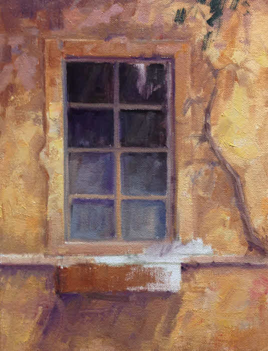 Oil Painting Demo The Old Window Hagerman Art Blog By Artist