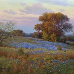 bluebonnet oil painting qualified original by artist William Byron Hagerman