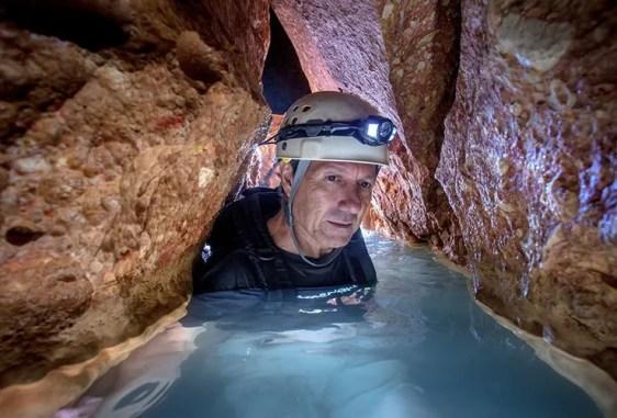 ATM cave tour