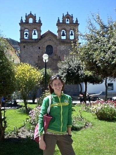 Gardens in Cusco, Peru