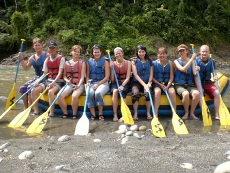 Peru rafting