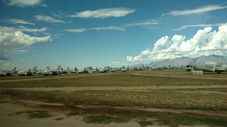 "The ""aircraft boneyard"" at Davis-Monthan Air Force Base is a site to see. The bus tour offered through the Pima Air and Space Museum is a must for anyone visiting Tucson, AZ."