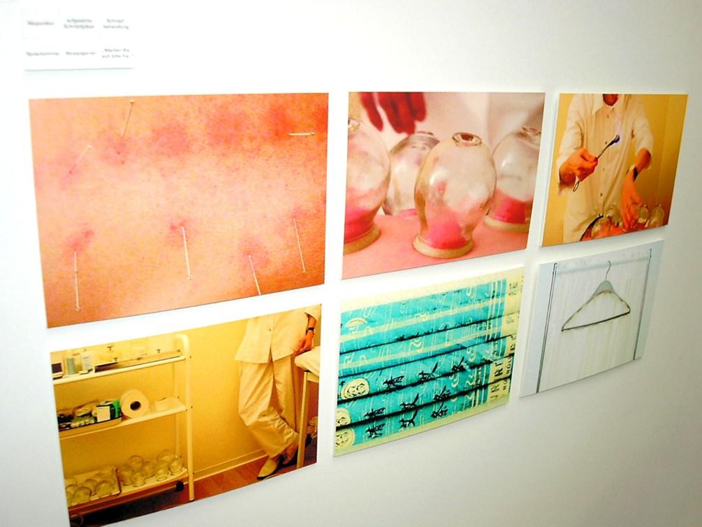 "Begleitpräsentation zum Erklärfilm ""Praxis Wang"". Eindrücke aus der Akupunkturpraxis."