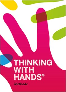 "Logo der Kreativ-Methode ""Thinking with Hands"""