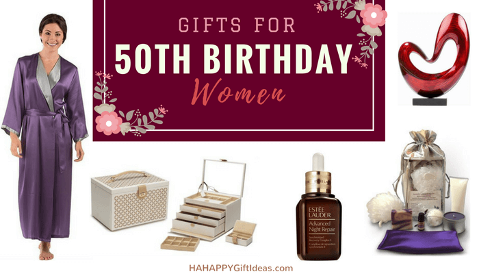 The Best 50th Birthday Gifts For Women
